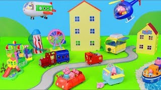Download Peppa Pig- Jouets de peppa pig - Maison - Jet - Bateau - Camping car Video