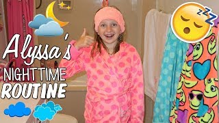 Download Alyssa's Nighttime Going to Bed Routine Video