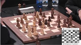 Download When Carlsen Checkmates his opponents he does It beautifully with 1 second time spent Video