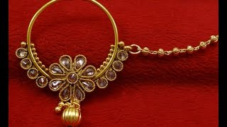 Download BRIDAL NOSE RING COLLECTION , ANTIQUE NOSE RING NATH COLLECTION Video
