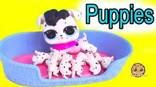 Download LOL Surprise Pets Dog Has Puppies ! Cookie Swirl C Toy Video Video