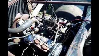 Download Old Race Car First Start - 1968 Pontiac Lemans Stock Car Lives Again! Video