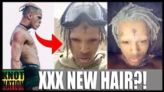 Download XXXTentacion SHAVES His Eyebrows & Dyes DREADS! Video