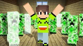 Download 99 CREEPERS BLEW UP MY MINECRAFT HOUSE! (Survival) Video