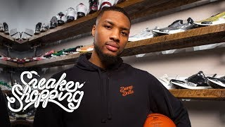 Download Damian Lillard Goes Sneaker Shopping With Complex Video