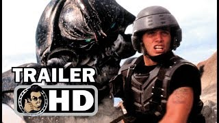 Download STARSHIP TROOPERS Official 20th Anniversary 4K Trailer (HD) Casper Van Dien Sci-Fi Action Movie HD Video