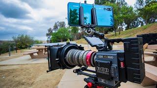 Download Huawei P20 Pro vs RED Cinema Camera Video