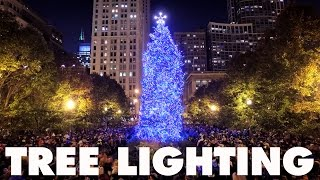 Download Chicago's 102nd Christmas Tree Lighting Ceremony Video