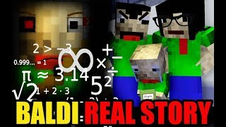 Download Monster School: BALDI'S LIFE PART 1 (The Real Story) - Minecraft Animation Video