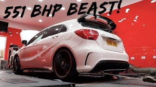 Download COLLECTING MY *551BHP* MERCEDES A45 AMG!!! *UK'S MOST POWERFUL* Video