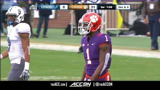 Download Citadel vs Clemson College Football Condensed Game 2017 Video