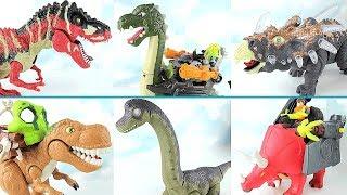 Download Real Dinosaurs Transformation Dinosaur Robot! T Rex, Brachiosaurus Toys~ Walking Dino For Kids. Video
