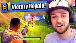Download OMG - MY FIRST #1 FINISH! - Fortnite: Battle Royale Video