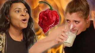 Download People Try The World's Hottest Pepper Video