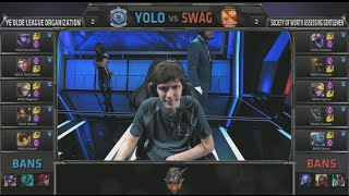 Download YOLO vs SWAG - the URFitational Grand Finals | 2015 April Fools LoL URF mode match Video
