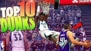 Download NBA 2K17 TOP 10 DUNKS - Putbacks, Lobs & Leaps Video