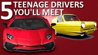 Download 5 Types of Teenage Drivers Video