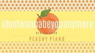 Download Idon'twannabeyouanymore - Billie Eilish   Piano Backing Track Video