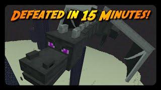 Download MINECRAFT SPEEDRUN in 15 MINUTES! Video