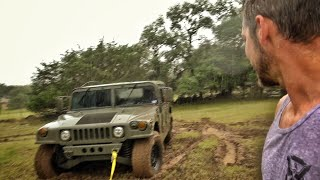 Download Humvee To The Rescue... Didn't Go As Planned... Video