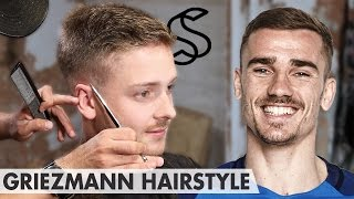 Download Antoine Griezmann Hairstyle - Short Sporty Side Swept - Men hair inspiration Video