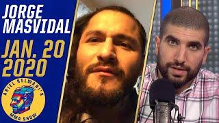 Download Jorge Masvidal leaning towards fighting Kamaru Usman over Conor McGregor | Ariel Helwani's MMA Show Video