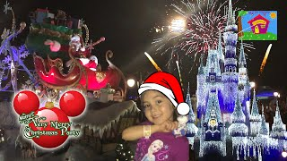 Download BEST CHRISTMAS PARTY EVER! Mickey's Very Merry Christmas Party Parade Fireworks Frozen Holiday Wish Video