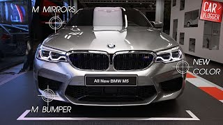 Download INSIDE the NEW BMW M5 2018 | Interior Exterior DETAILS w/ REVS Video