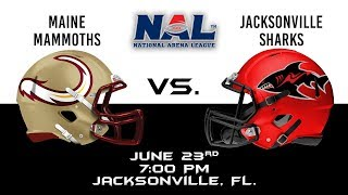 Download Maine Mammoths vs Jacksonville Sharks Video