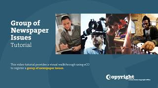 Download Group of Newspapers Issues: Tutorial (2018) Video