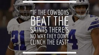 Download Breakdown | If the Cowboys Beat the Saints There's No Way They Don't Clinch the East Video