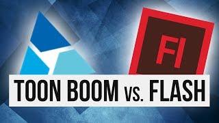 Download Toon Boom Harmony vs. Flash (Animate CC) Video
