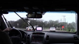 Download Trico Force High Performance Beam Blade Wiper Rain Road Test Kia Sorento 2014 Video