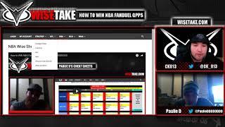Download How to WIN NBA FanDuel GPPs PART II w/ @CK 013 & @PaulieDDDDDDDD Video