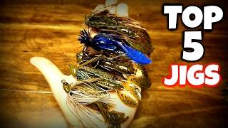 Download My TOP 5 FAVORITE JIGS | Bass Fishing Tips Video