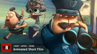 Download CGI 3D Animated Short Film ″ESCARFACE″ Hilarious Action Animation by Supinfocom Video