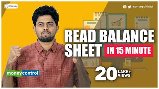 Download How to read Balance Sheet on Moneycontrol? (Hindi) Part 1 Video