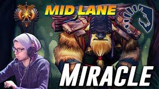 Download Miracle Earthshaker | MID LANE | Dota 2 Pro Gameplay Video