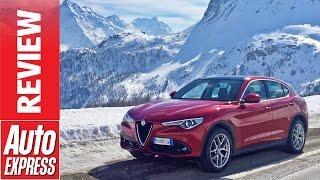 Download Alfa Romeo Stelvio review: will Alfa's SUV pass the test? Video