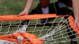 Download Bownet Soccer Goal 3' X 5' Set Up Video Video