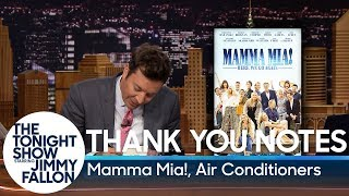 Download Thank You Notes: Mamma Mia!, Air Conditioners Video
