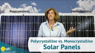 Download Monocrystalline vs. Polycrystalline Solar Panels - What's the Difference? Video