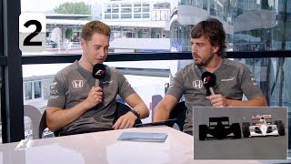 Download McLaren's Fernando Alonso and Stoffel Vandoorne | F1 Grill The Grid Video