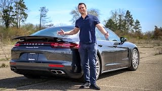 Download '17 Porsche Panamera Turbo Review - WAY MORE FUN Than An S-Class!! Video