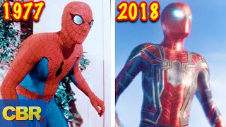 Download The Evolution Of Spider-Man's Suits Video