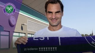 Download Roger Federer remembers his eight Wimbledon titles Video
