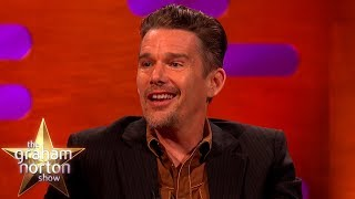 Download Robin Williams Is The Reason Ethan Hawke Made It As An Actor | The Graham Norton Show Video
