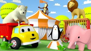 Download Ethan helps find the missing animal from the circus | Educational cartoon for children Video
