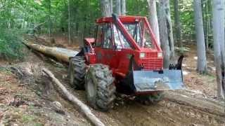 Download Tractor forestier articulat tip skidder Noe NF140 - video 2 Video