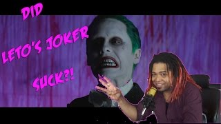 Download My Thoughts on Jared Leto's Joker | DID HE SUCK?! (RANT/REVIEW) Video